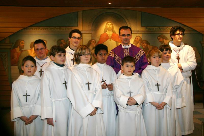 Servants de messe